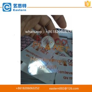 Customized Transparent Adhesive Label Stickers