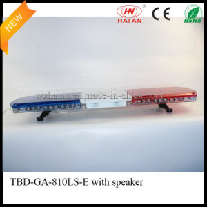 New Design Police Car Lightbar with Speaker pictures & photos