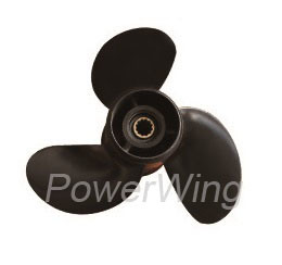 Powerwing Aluminum Marine Boat Outboard Propeller for Mercury Engine 8-9.9HP