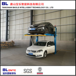 China Pjs Two Post Simple Lifting Automatic Car Elevator Parking