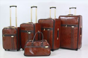 Good Price PU Luggage Trolley Bag pictures & photos