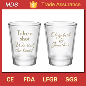 Glassware Drinkware Type Dessert Cheap Custom Shot Glasses pictures & photos