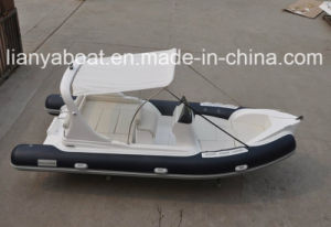 20feet Liya Right Side Console Deep V Bottom Rescue Boat pictures & photos