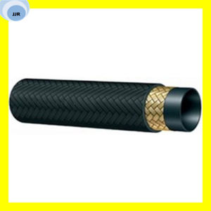 High Quality SAE 100 R5 Wire Braid Textile Covered Hose pictures & photos