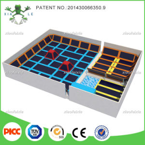 Durable Safe Adult and Children Indoor Trampoline Park pictures & photos