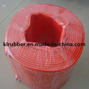 PVC Layflat Water Discharge Hose for Irrigation pictures & photos