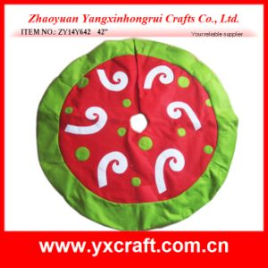 Christmas Decoration (ZY14Y642 42′′) Christmas Tree Skirt pictures & photos