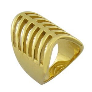 Dubai Style 18k Gold Plated Figer Ring pictures & photos