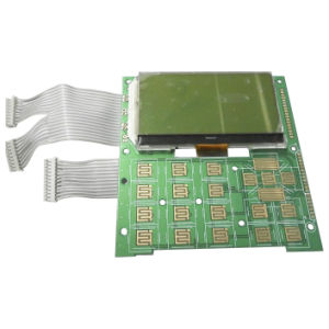 Stn Yellow-Green 130 X 64 Dots Matix LCD Display Module with Green LED Backlight (VTM88827F00)
