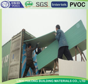 Waterproof Plasterboard for Drywall (1220x3660mm/1200x3600mm) pictures & photos