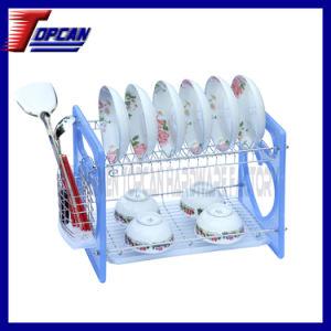 China Home Basics Two Layer Dish Drainer Tc Cq1007 22 China Dish