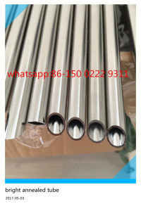 ASTM A269 304 Seamless Stainless Steel Bright Anneal Tube pictures & photos