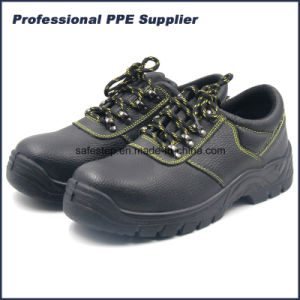 Low Cut High Quality Steel Toe Safety Shoes pictures & photos