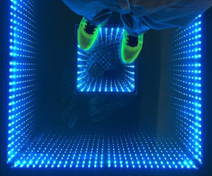 3D Mirrow Interactive LED Dance Floor for Wedding, Party, Stage, Bar, Night Club pictures & photos