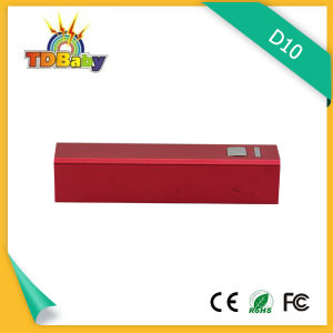 2000mAh Lastest and Popular Mobile Power Bank/Mobile Charger (D10)