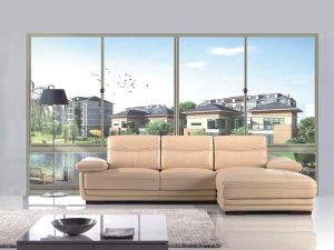 Slim and Thinner Aluminium Frame Sliding Doors pictures & photos