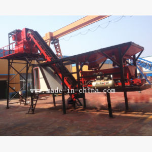 25m3/H Full Automatic Mobile Concrete Mixing Plant