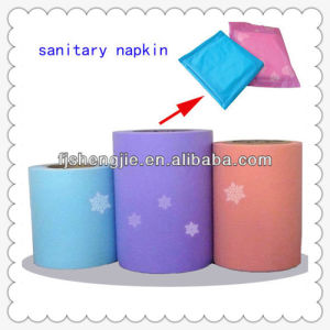 Printed Cartoon PE Film for Sanitary Napkin (LD-P03) pictures & photos