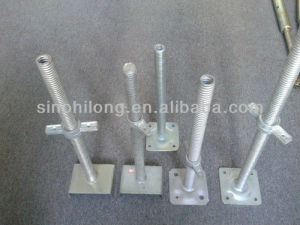 Adjustable Construction Scaffolding Prop Shoring and U Head Jack