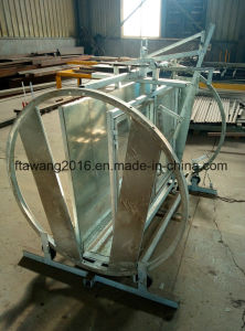 Galvanized Sheep Equipment Sheep Turnover Crate Round Crate pictures & photos