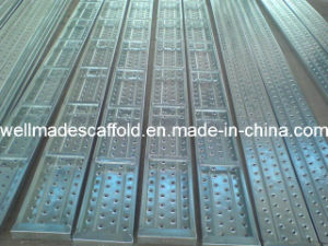 JIS3444 Gi Scaffolding Metal Deck Plank pictures & photos