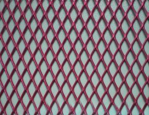China Decorative Aluminum Expanded Metal Mesh Panels / Honeycomb ...