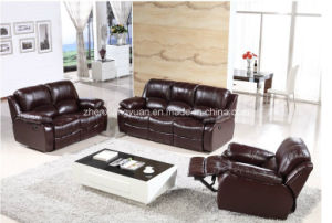 Home Furniture Reclining Sofa Leather Reclinable Sofa Set