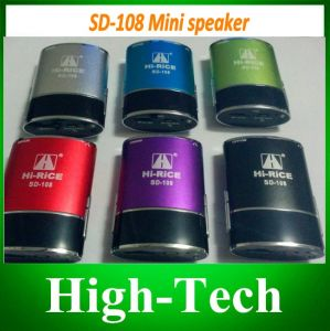 Hi-Rice SD-108 Portable Mini Speaker