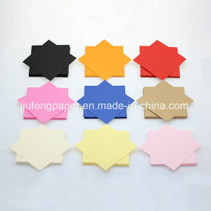 High-End 100% Native Wood Pulp Dyed Color Paper Handmake Paper pictures & photos