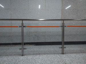 High Quality Stainless Steel Tempered Glass Handrail K10001