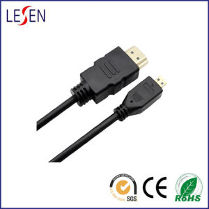 High-Speed HDMI Cable, HDMI a Male to Micro HDMI pictures & photos