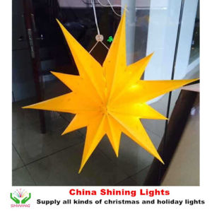 2016 New Design LED Star Lights Christmas Holiday Festival Decoration