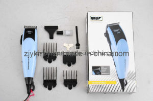 Professional Barber Using Electric Hair Clipper (QR-2105)