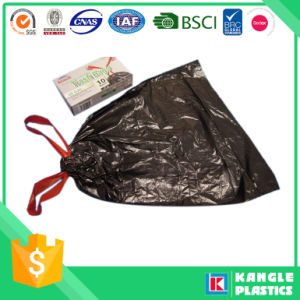 Factory Price Disposable Drawstring Plastic Bag for Garbage pictures & photos