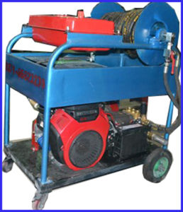 Petrol Engine High Pressure Cleaner Sewer Drain Pipe Washing System pictures & photos