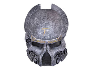 "′numen′ Fiberglass Metal Mesh ""Iron Warrior Wolf"" Full Face Mask"