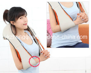 Neck and Shoulder Massager Acupressure Kneading Therapy with Heat pictures & photos