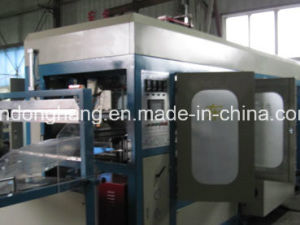 Plastic Food Tray Automatic Plastic Thermoforming Machine Factory Price pictures & photos