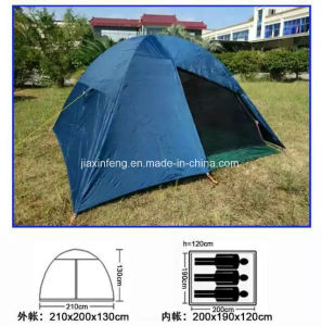 Portable Hiking Shelter 3-4 Person Pop up Camping Tent