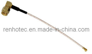 R/A SMA Male to I-Pex/N to SMA Coaxial Cable pictures & photos