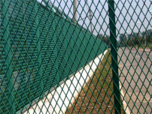 Standard Expanded Metal Mesh Fence