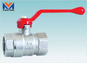 Thread and Fixed Brass Ball Valve (VT-6105) pictures & photos
