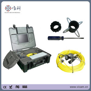 Vicam Sewer Endoscope Fiberglass Cable Pipeline Video Inspection pictures & photos