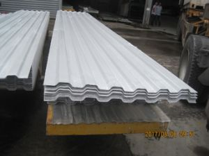 Fiberglass Plastic Corruated Roofing Tile, FRP Board, GRP Roofing Panel pictures & photos