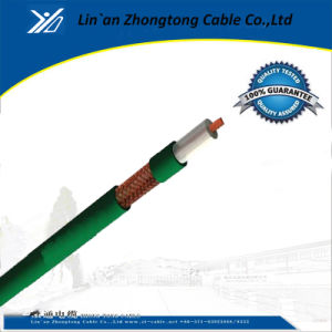 Green PVC with CE Kx8 Coaxial Cable