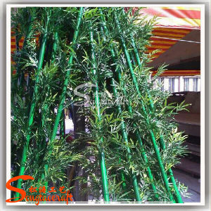 Plastic and Reasonable Price Artificial Bamboo for Decoration pictures & photos