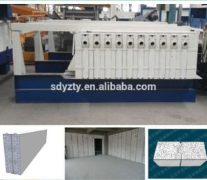 Tianyi Mobile Molding Compound Cement Machine EPS Sandwich Panel pictures & photos