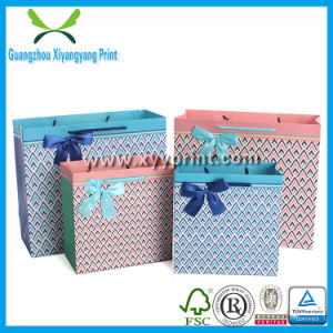 Eco Friendly Luxury Die Cut Handle Paper Shopping Bag pictures & photos
