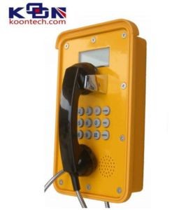 Robust Metro Phone Waterproof Phone VoIP Telephone, Outside Telephone Knsp-16