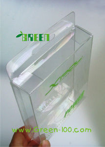 Super Clear PVC Plastic Hanger Hole Packaging Box